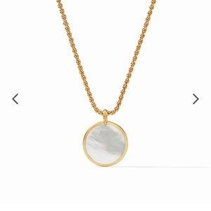 Julie Vos coin statement necklace